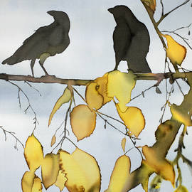 Carolyn Doe - Black Ravens In Birch