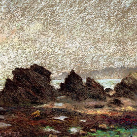 Pierre VALLON - Black Rocks In Vendee