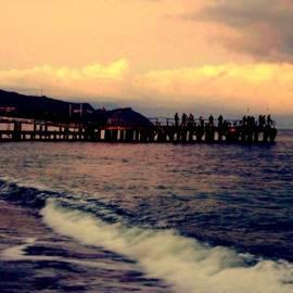 Rick Todaro - Black Sea / Twilight  Fishing  Pier