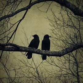 Patricia Strand - Blackbirds on a Branch