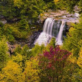 J Riley Stewart - Blackwater Falls in Autumn