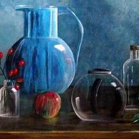 Geert Winkel - Blauwe vaas