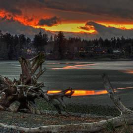 Randy Hall - Blazing Sunset