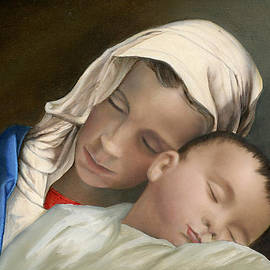 Cecilia Brendel - Blessed Mother Mary and Jesus