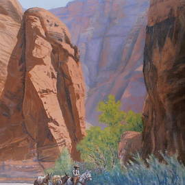 Elaine Jones - Blessed Shade in the Canyon