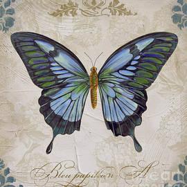 Jean Plout - Bleu Papillon-A