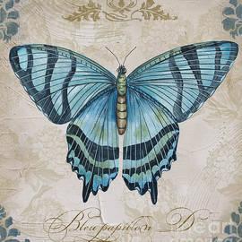 Jean Plout - Bleu Papillon-D
