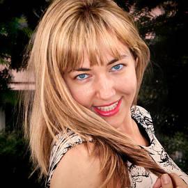 Mariola Bitner - Blonde Hair Blue Eyes