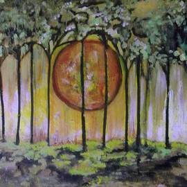 Karen Butscha - Blood Moon Alley Way