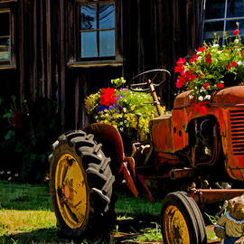Jordan Blackstone - Blooming Tractor Art