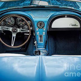 Ken Johnson - Blue 66 Sting Ray Interior