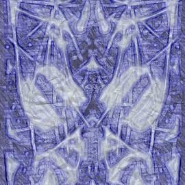 Michael African Visions - Blue alien figure