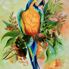 ILONA ANITA TIGGES - GOETZE  ART and Photography  - Blue and Gold Macaw part2