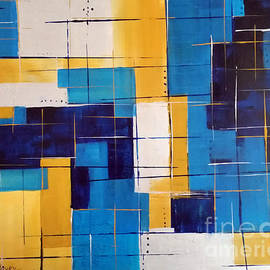 Susan Sadoury - Blue And Gold