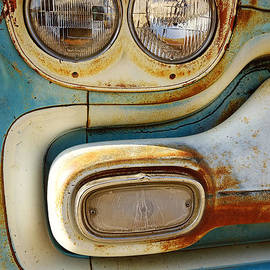 Ann Powell - Blue and Rust -photograph