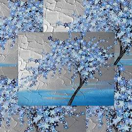 Cathy Jacobs - Blue blossom tree