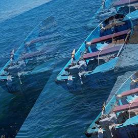 Rick Todaro - Blue Boat Black Sea