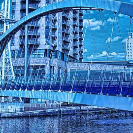 Graham Hawcroft pixsellpix - Blue Bridge