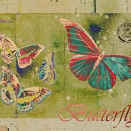 Variance Collections - Blue Butterfly Etc - s55ct01