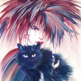 Anna Ewa Miarczynska - Blue Cat