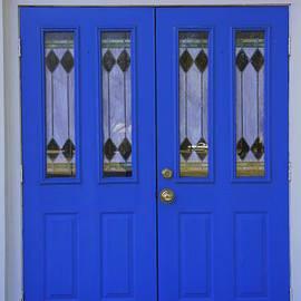 Laurie Perry - Blue Chapel Door