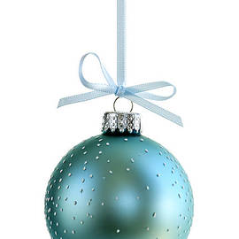 Elena Elisseeva - Blue Christmas ornament