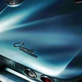 M and L Creations - Blue Corvette