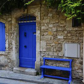 Greg Kluempers - Blue Door and Bench Arles France DSC01810