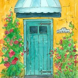 Cathie Richardson - Blue Door at 7 Dobson