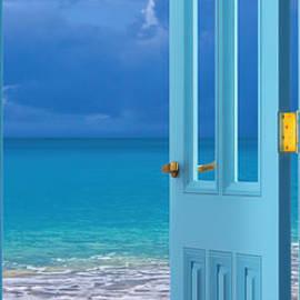 Olga Hamilton - Blue Door
