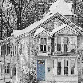 Lori Pessin Lafargue - Blue Door on Park Street