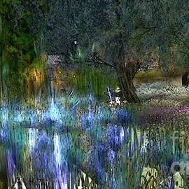 Susanne Baumann - Blue garden