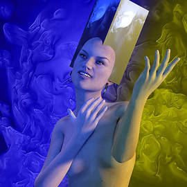 Joaquin Abella - Blue girl