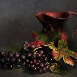 Hugo Bussen - Blue grapes