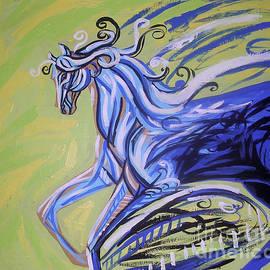 Genevieve Esson - Blue Horse