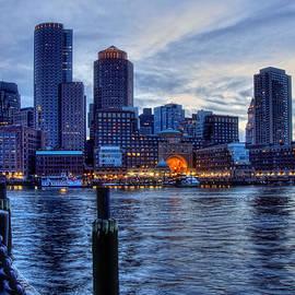 Joann Vitali - Blue Hour on Boston Harbor