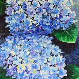 Karin Kelshall- Best - Blue  Hydrangea 2