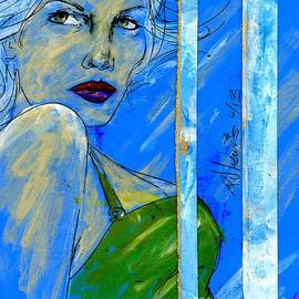 P J Lewis - Blue in green