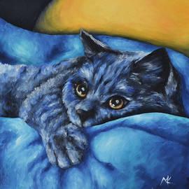 Maria Kucera - Blue Kitten