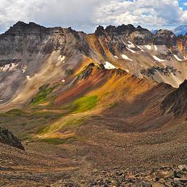 Aaron Spong - Blue Lakes Pass