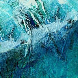 Ann Powell - Blue Longing - abstract art
