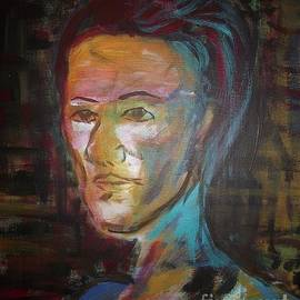 Edward Smith - Blue man