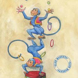 Lora Serra - Blue Monkeys