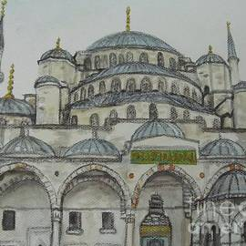 Malinda  Prudhomme - Blue Mosque Istanbul Turkey