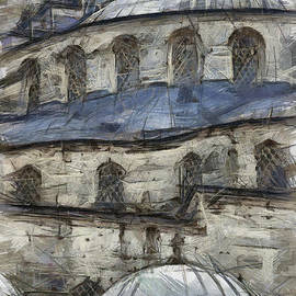 Antony McAulay - Blue Mosque sketch