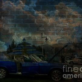 Bobbee Rickard - Blue Mustang Graffitti
