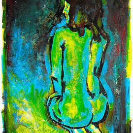 Michael Leporati - Blue Nude
