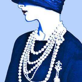 Maureen Tillman - Blue Organza Cloche