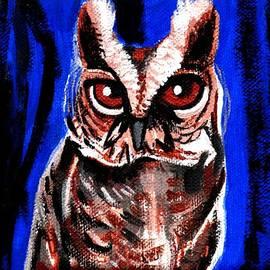 Genevieve Esson - blue owl