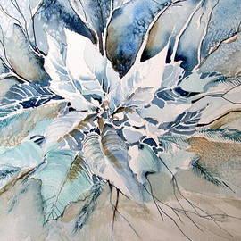 Mindy Newman - Blue Poinsettia